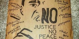 black history month student banner