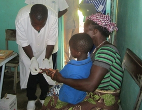 AvecNet - malaria RDT Burkina Faso