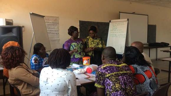 Refresher training in Antenatal and Postnatal Care delivered in Togo