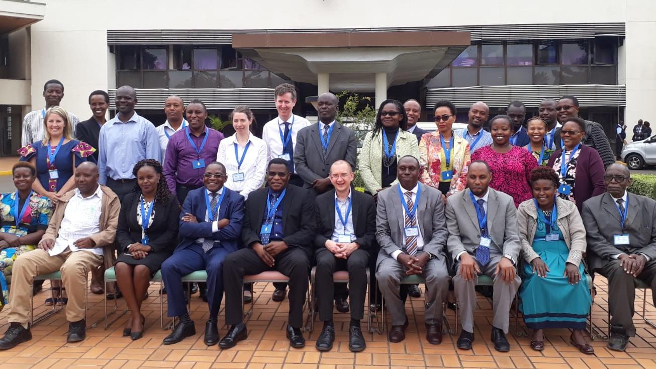 Attendees include: Dr Hellen Meme, Prof Jeremiah Chakaya, Dr Evans Amukoye, Prof Graham Devereux, Prof Sam Kariuki, Ms. Ruth Owuwor, Ms Martina Savio, Dr Charles Nzioka, Dr. Joseph Kibachio, Dr. Victor Kibe, Prof. Yeri Kombe, Mr James Wodera, Mr Stephen Mulupi