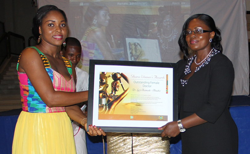 4bcd3f55f ... Dr. Lucy Asamoah-Akuoko (link is external) (right on picture), received  the 'Outstanding Female Doctor' award in the Ghana Women's Awards 2013.