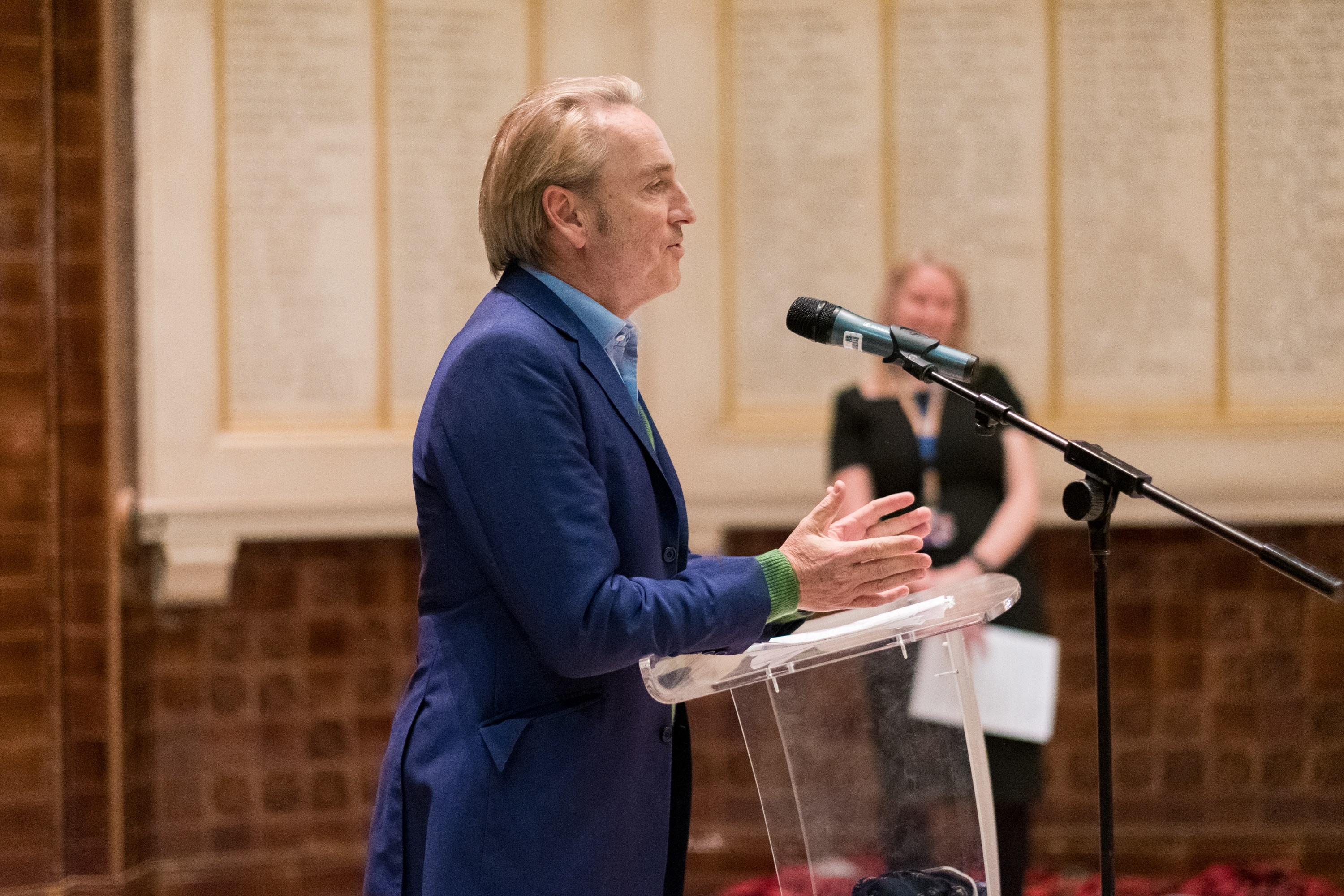 Art dealer and broadcaster Philip Mould OBE opens the exhibition