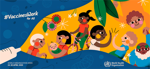 World Immunization Week 2020 banner