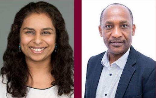 Dr Anu Garrib & Prof Sayoki Mfinanga