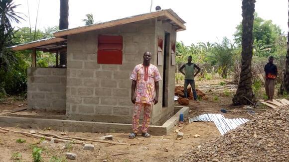 Experimental huts
