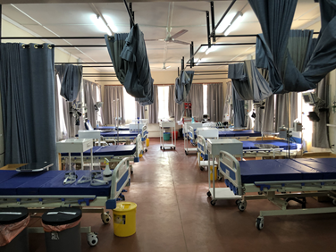 High-dependency unit at Queen Elizabeth Central Hospital, Blantyre, Malawi