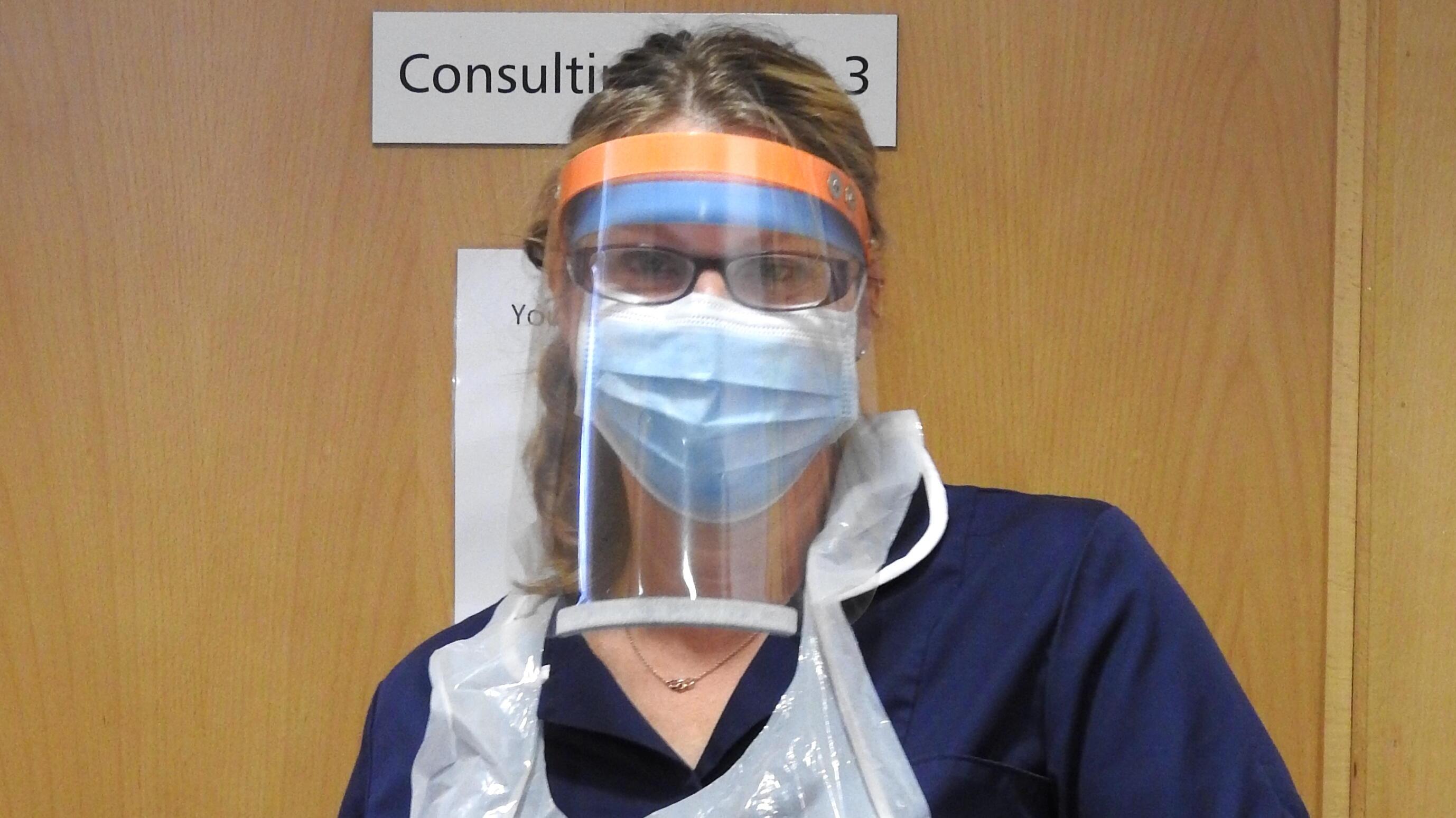 Nurse Rachel Press of WTC Chester