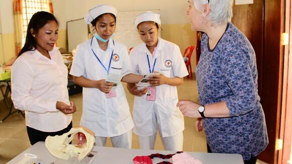 Cambodia skills lab