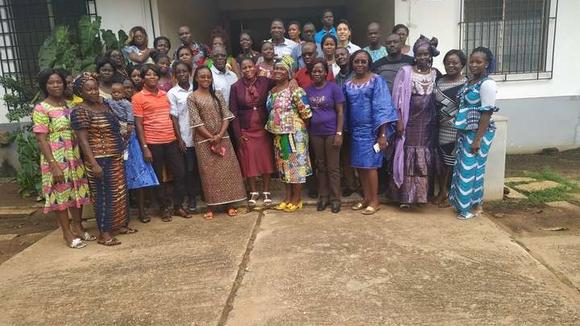 Two weeks of training with healthcare providers in Togo