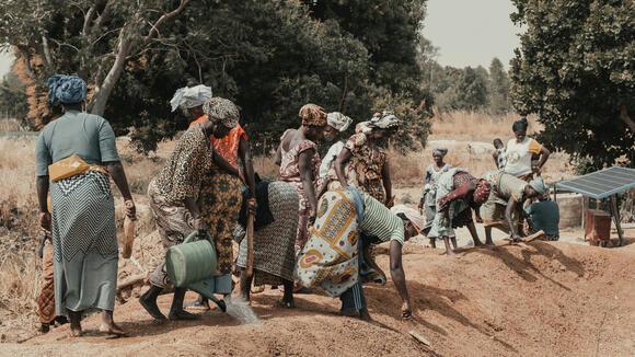 Rural workers in Burkina Faso
