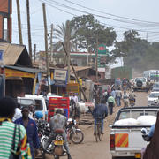 """Kampala 26.08.2009 12-39-51"" by Simisa (talk · contribs) - Own work Simisa (talk · contribs). Licensed under CC BY-SA 3.0 via Wikimedia Commons - https://commons.wikimedia.org/wiki/File:Kampala_26.08.2009_12-39-51.jpg#/media/File:Kampala_26.08.2009_12-39-51.jpg"